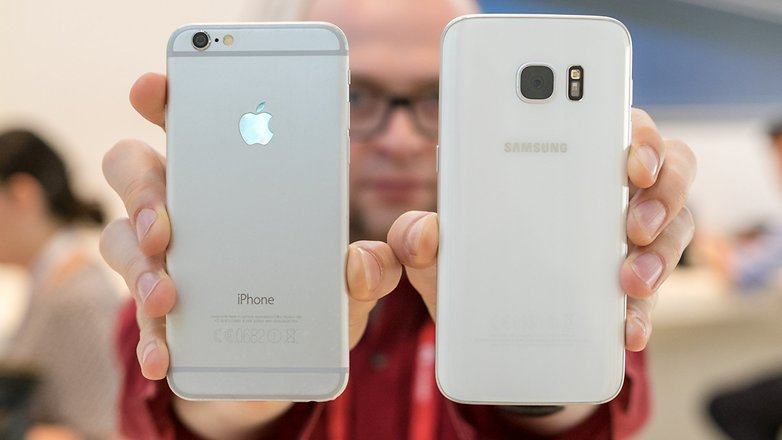 Samsung-Galaxy-S8-vs-iPhone-7 Samsung Galaxy S8 vs iPhone 7